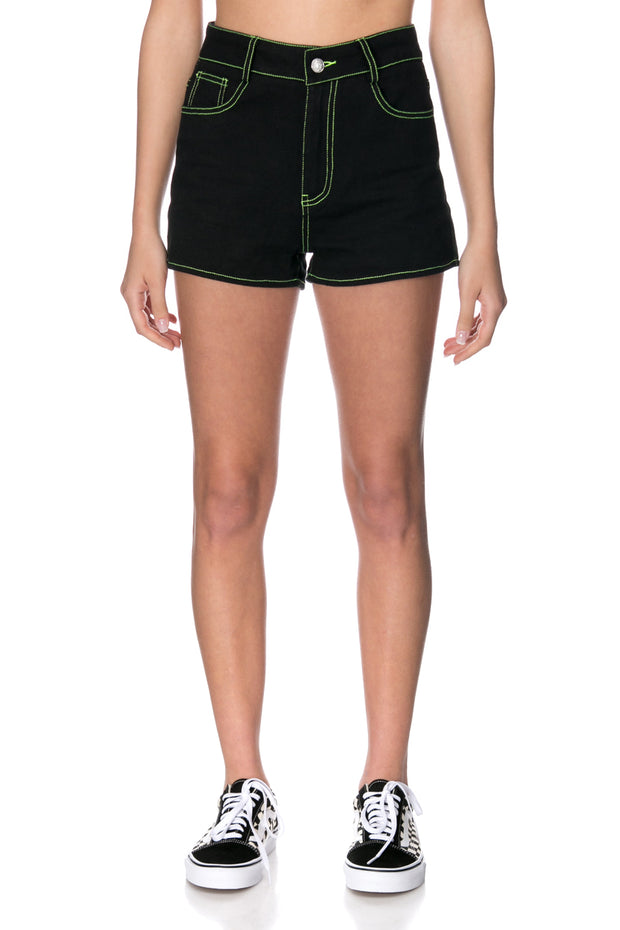 Condor Neon Denim Shorts