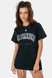 SAN FRANCISCO Oversize T-Shirt