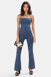 Backstone Denim Jumpsuit