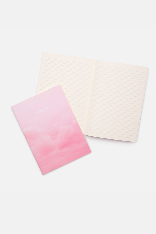 4-Pack Cloudy Notebooks