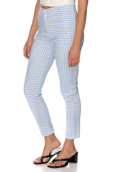 Lorens Tailored Checkered Pants