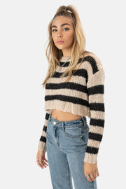 Cobain Cropped Sweater