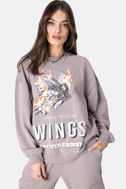 FLYING Oversize Sweatshirt