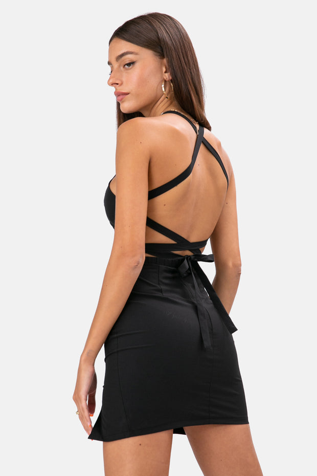 Harlow Open Back Dress