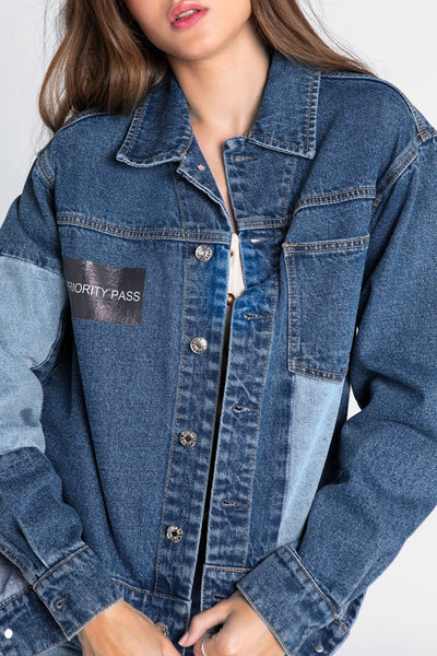 Double Denim Jean Jacket