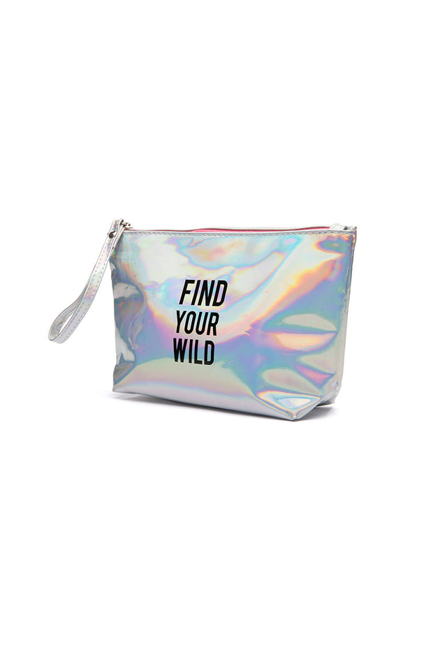Wild Hologram Cosmetic Bag