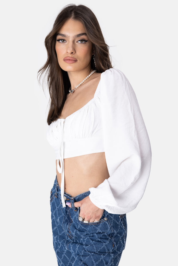 Vagabond Puff Sleeve Top