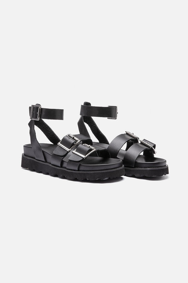Conito Faux Leather Sandals