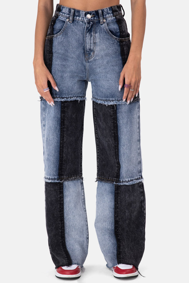 Spice Patchwork Jeans | WIDE