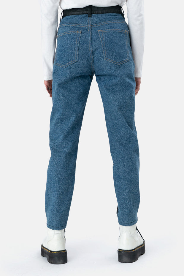 Dorian Color Block Jeans | MOM