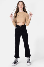 CHOCOLATE Cropped Tee