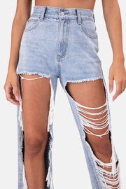 Cash Mega-Ripped Jeans | DISTRESSED