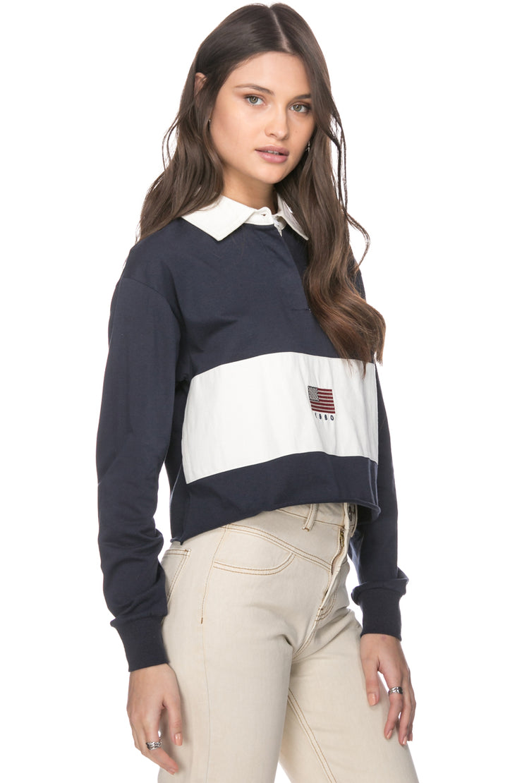 Cobrien Polo Top