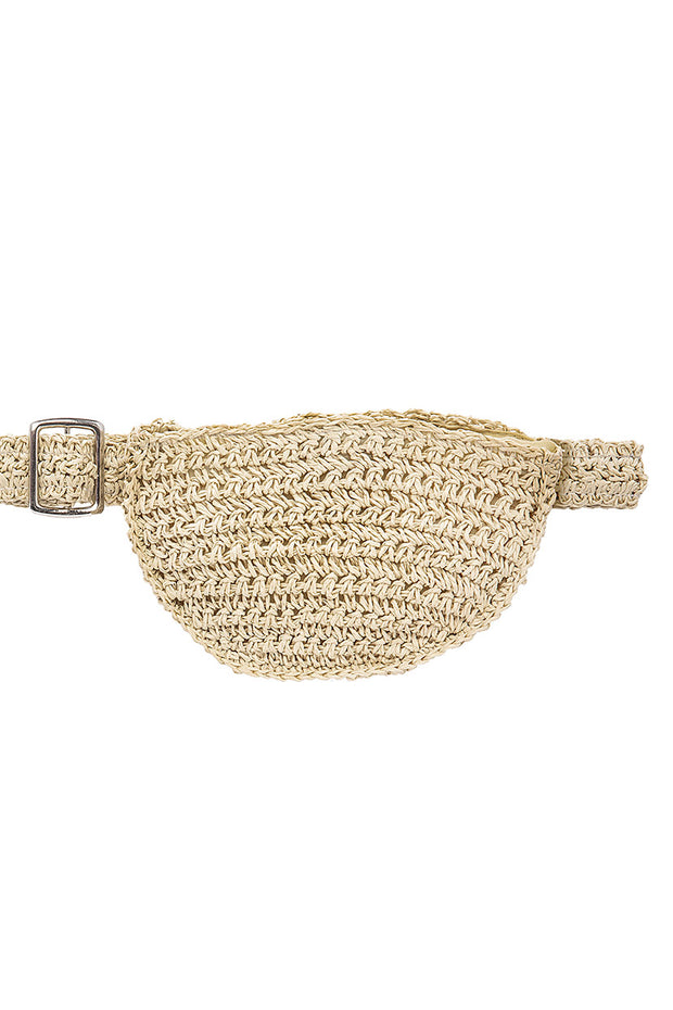 Torency Woven Belt with Bag