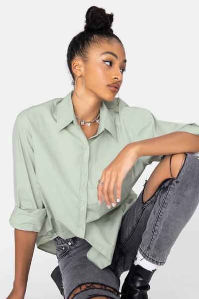 Rossellini Oversize Button Down Shirt