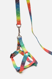 Rainbow Pup Harness