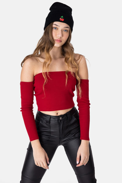 Carrie Off-Shoulder Top