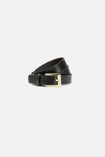 Quad Faux Leather Belt