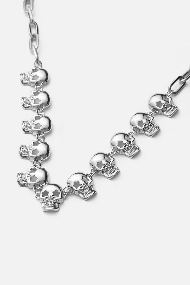 Skulls Choker Necklace