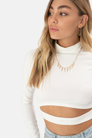 Fiona Cut-Out Top