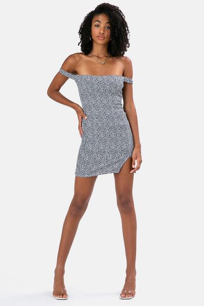 Daze Ruched Mini Dress