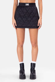 ADK Quilted Mini Skirt