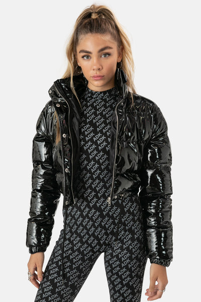 Bianca Cropped Puffer Jacket