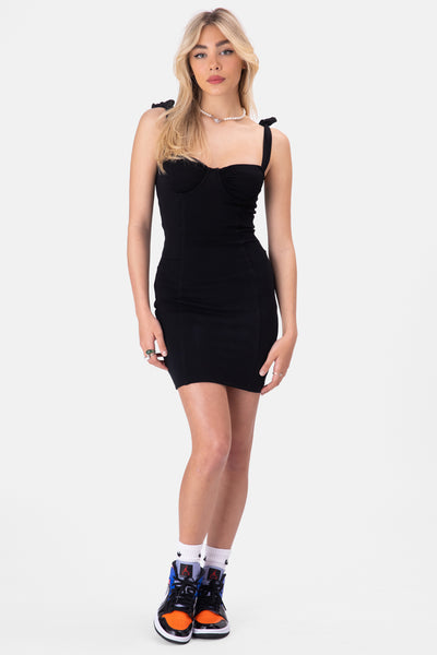 Myron Cupped Mini Dress