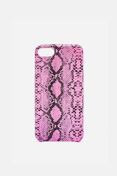 Neon Snake Iphone Case