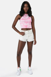 Logan Tie-Dye Crop Top