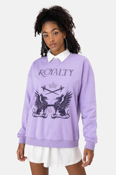 ROYALTY Oversize Sweatshirt