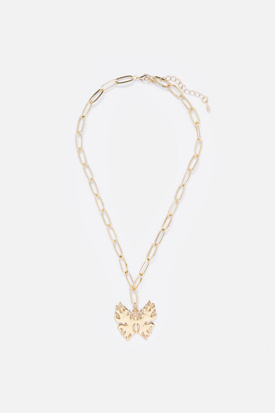 Blaze Butterfly Necklace