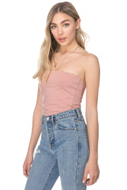 Coltrin Strapless Top