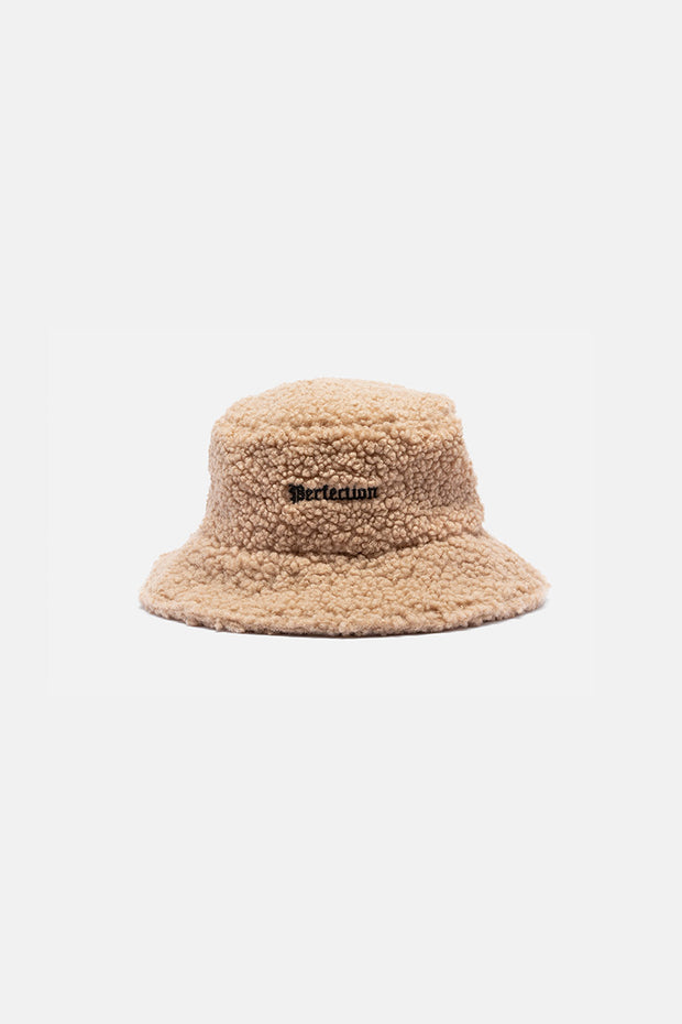 PERFECTION Fuzzy Bucket Hat
