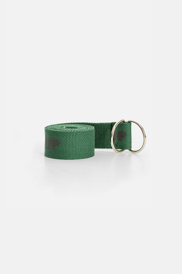 BUCKLE UP Webbing Belt