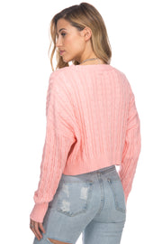 Mulberry Neon Sweater