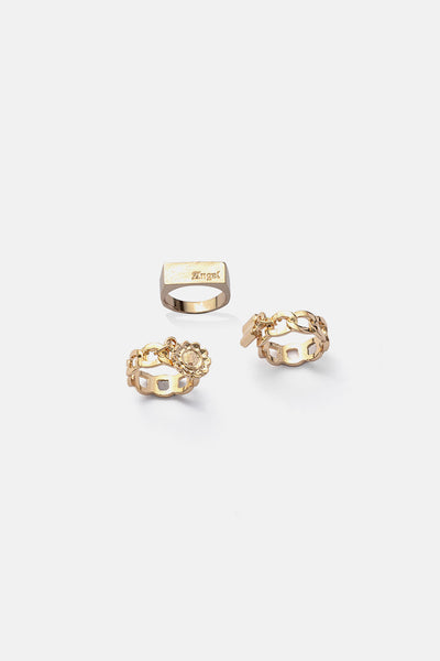 Chainz 3-Pack Rings