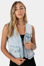 Bobbi Denim Vest
