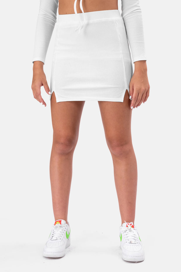 Laura Ribbed Mini Skirt