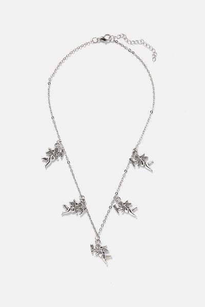 Heavenly Angel Charms Necklace