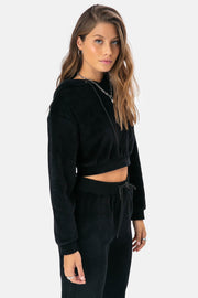 Pacific Cropped Hoodie