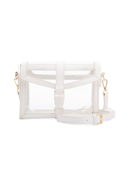 Bailey Clear Shoulder Bag