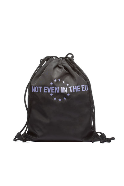 Not Even Drawstring Bag