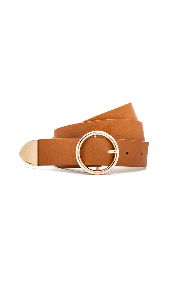 Eternity Faux Leather Belt