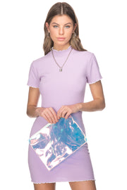 Clear Holographic Clutch