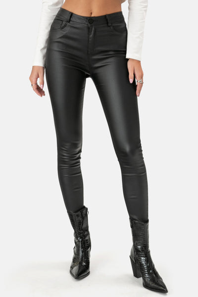 Montero Faux Leather Pants