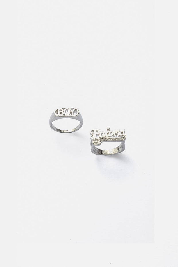 BOY 2-Pack Rings