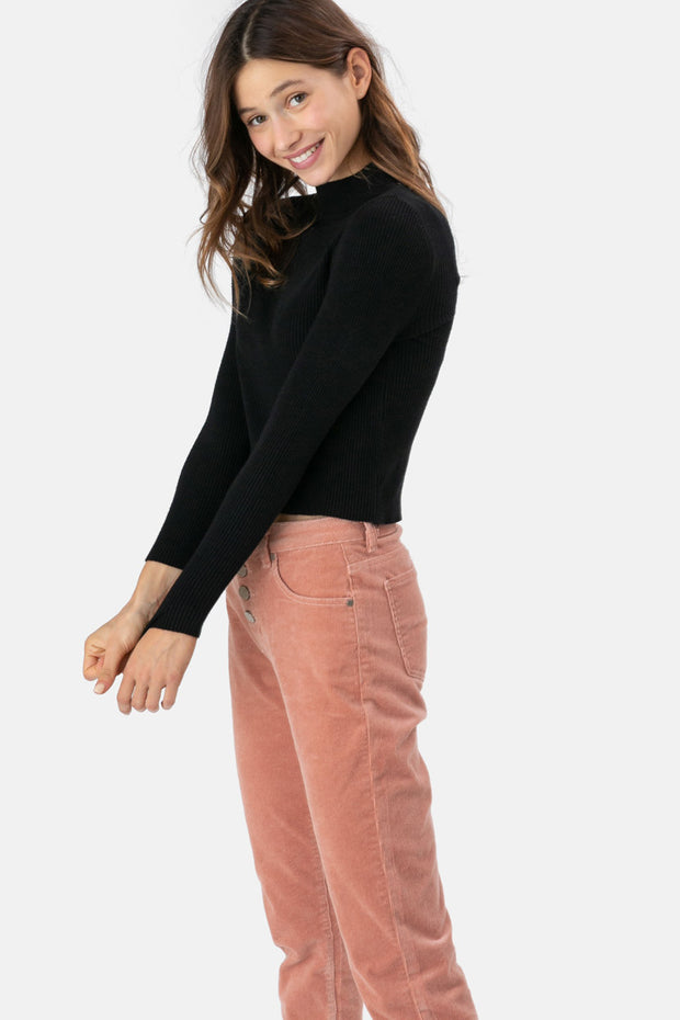 Shandy Ribbed Turtleneck