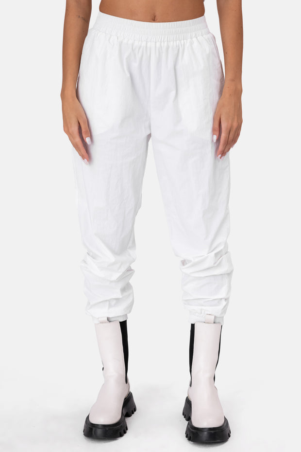 Icy Nylon Track Pants
