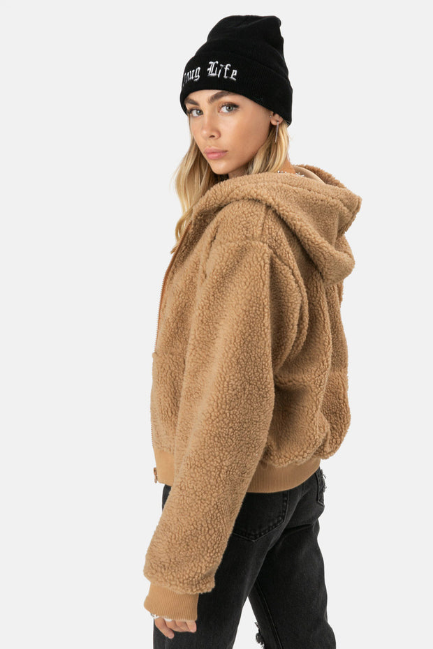 Jacey Hooded Jacket